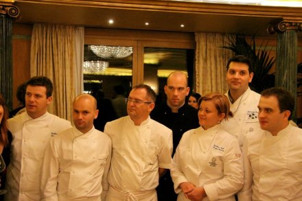 A big aplause to all the chefs (photo by: Bruno Gaberšek)