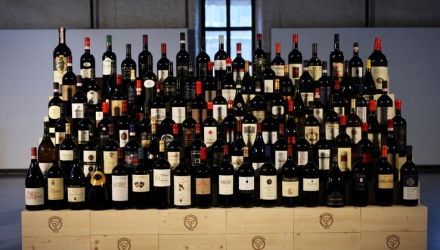 110 wines by 110 winemakers members of Grandi Cru d'Italia