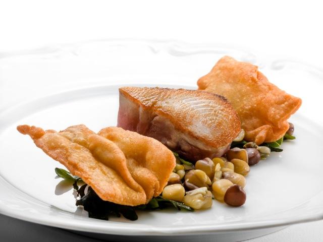 Over the deck/horse mackerel and batticulo (chef Dino Galvagno)