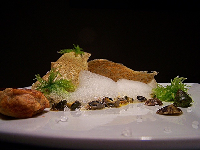 Rocks and their elements by chef Andrea Mantranga