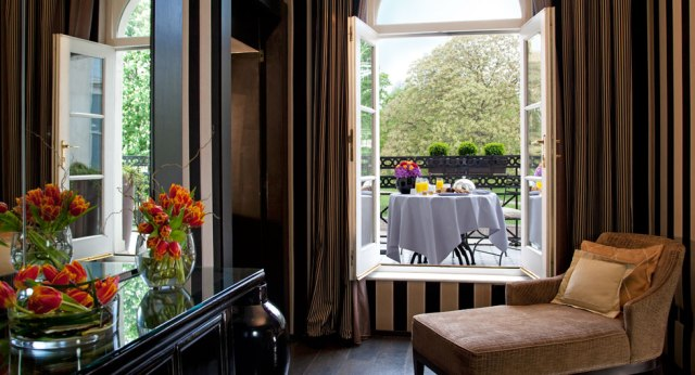 Wonderful view from one of the suites  (Photo: Archive Baglioni)