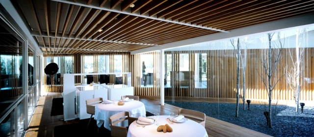Interior of El Celler de Can Roca