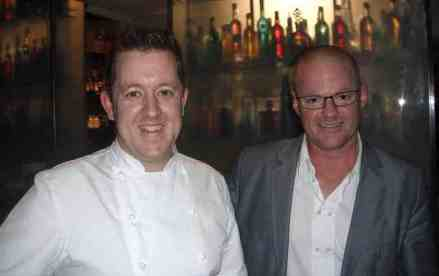 Ashley Palmers Watts and Heston Blumethal - successful team behind the Dinner
