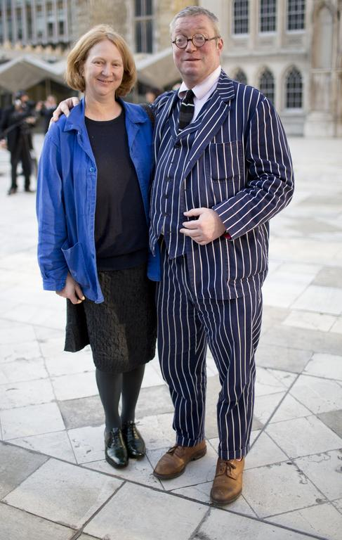 Fergus Henderson with his wife Margot