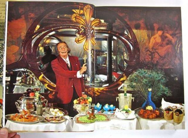 Salvador Dali's guilty pleasures