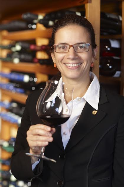 Alfonso's sister Mariella, sommelier