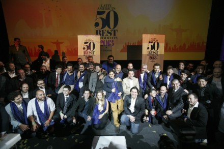 ©The Latin America's 50 Best Restaurants sponsored by Cusqueña, held in Lima, Peru, September 2013