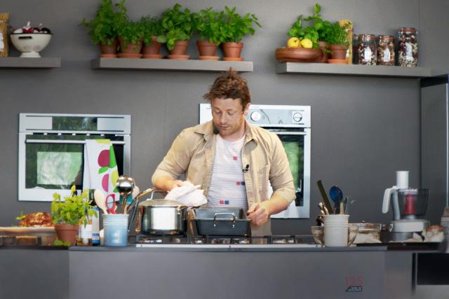 Jamie Oliver at Taste in 2012