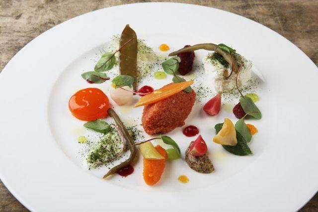 A dish by Carlo Cracco