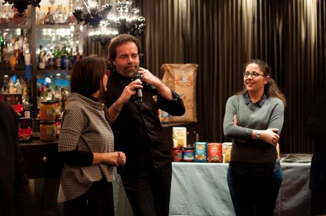 Luciana Squadrilli has presented Simone Bonini, the master ice-cream maker